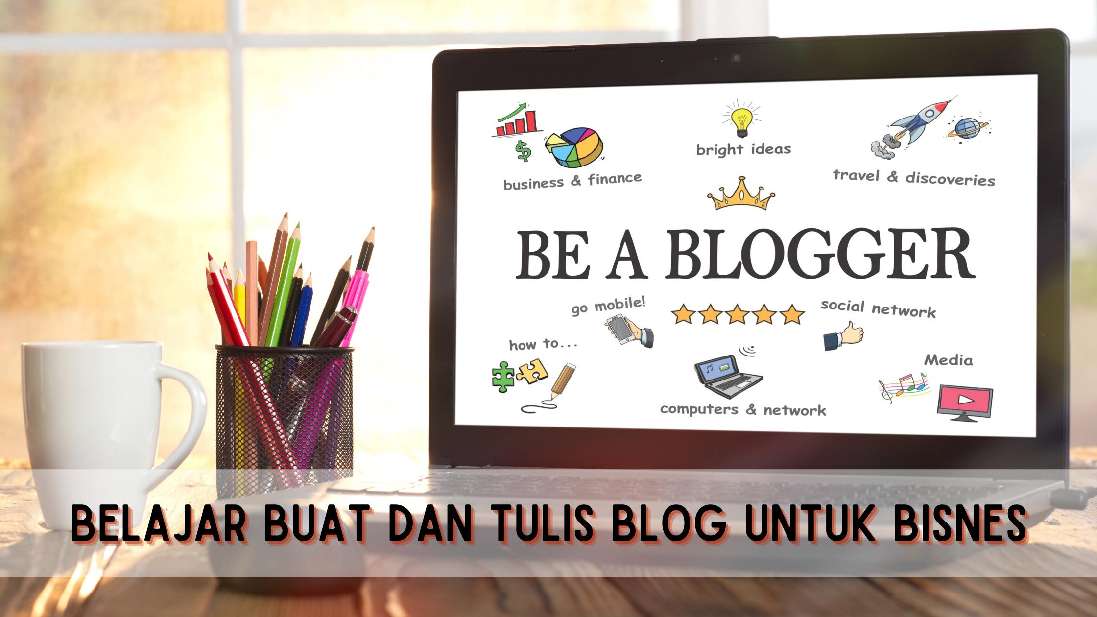 kelas belajar buat blog featured